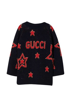 Gucci kids blue long cardigan  GUCCI KIDS | 39 | 621872XKBGX4696